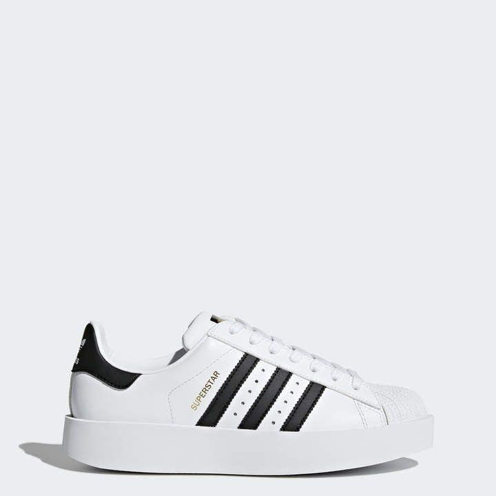 adidas superstar platform white