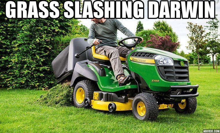 Grass Slashing Darwin | Business | Lawn mower, Outdoor power