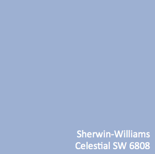 Thinking Of Painting My Kitchen This Color Sherwin Williams Celestial Sw 6808