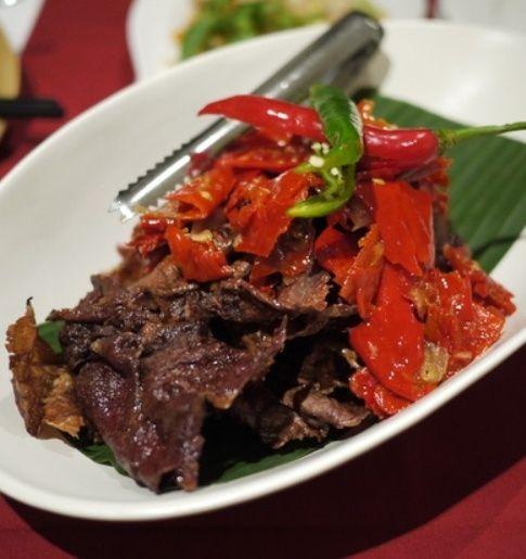 Resep Dendeng Balado Dan Cara Membuat Bacaresepdulu Com Resep Dendeng Resep Masakan Indonesia Resep