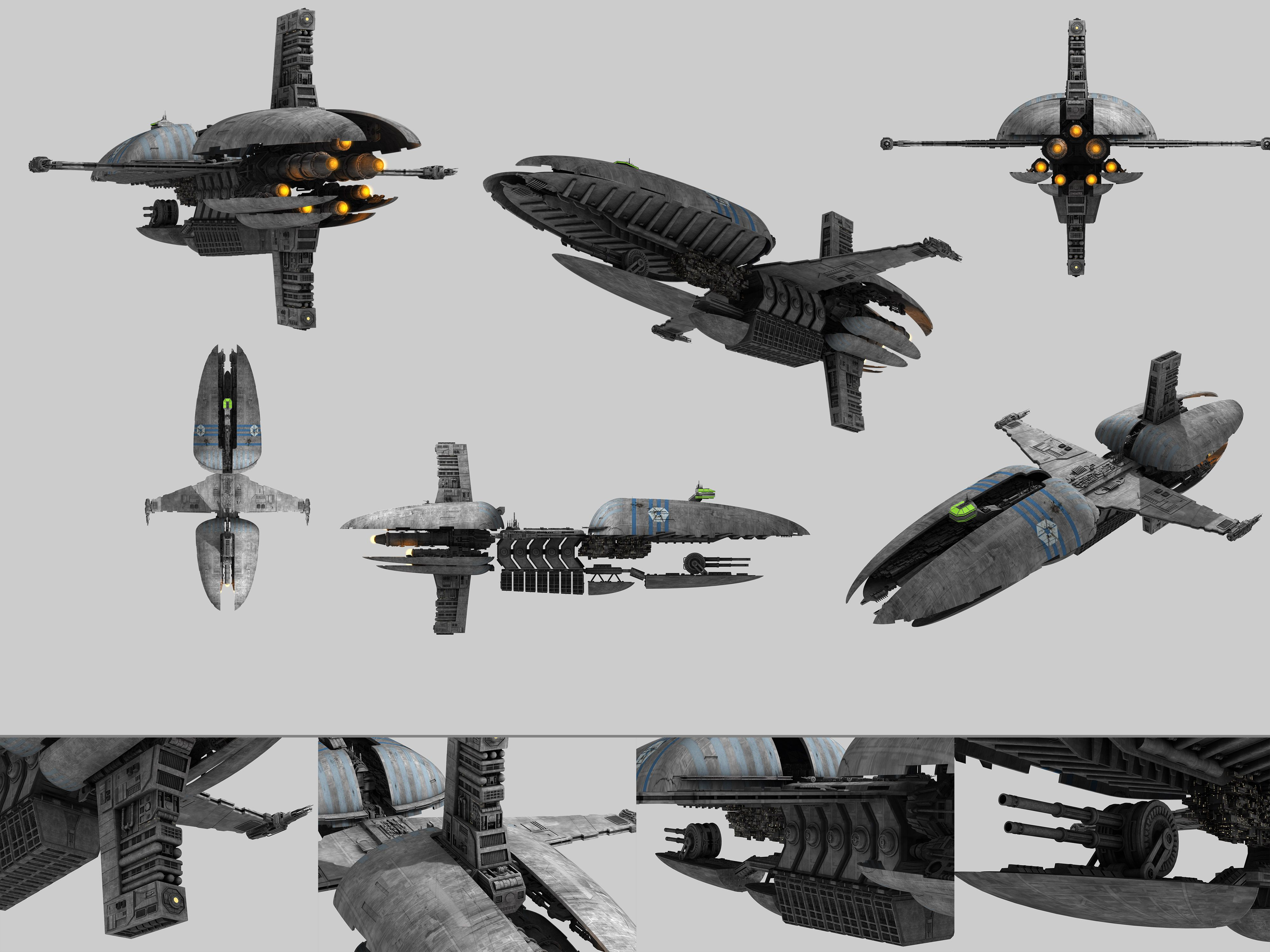 Cis Frigate Munificent Class From Star Wars Ep3 By Enigmator On Deviantart Star Wars Ships Star Wars Vehicles Star Wars Spaceships