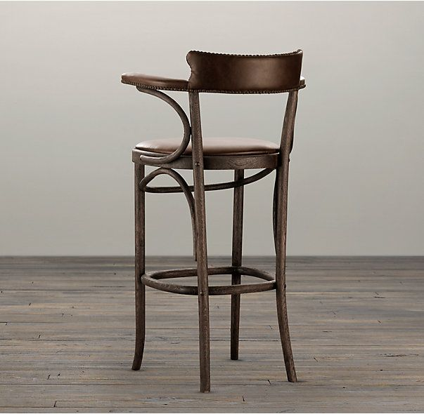 Vienna Caf 233 Leather Stool Leather Stool Vienna Cafe