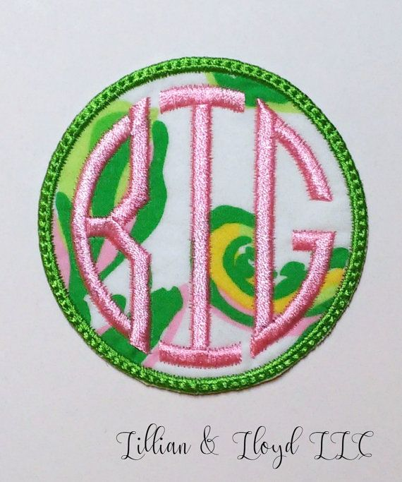lilly pulitzer iron on big or lil patch big little sororityiron on greeksorority patchgreek letters big little patchdiy sorority shirt