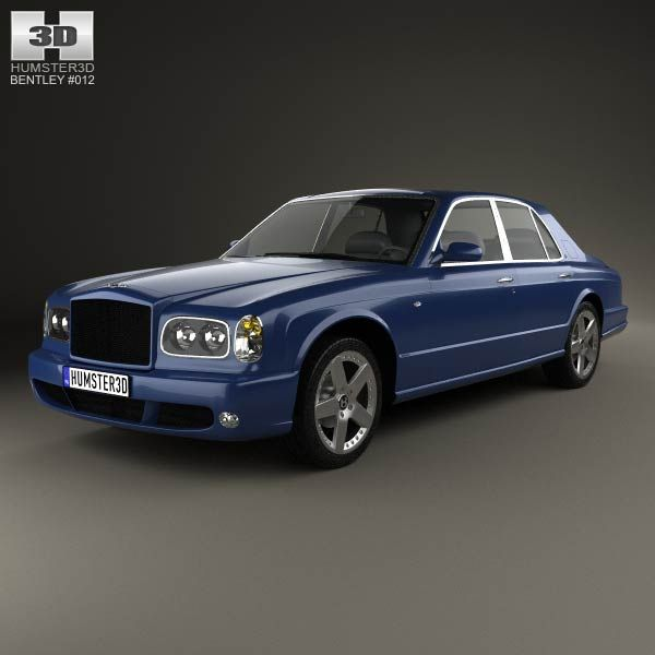 Bentley Arnage T 2002 3d Model From Humster3d.com. Price