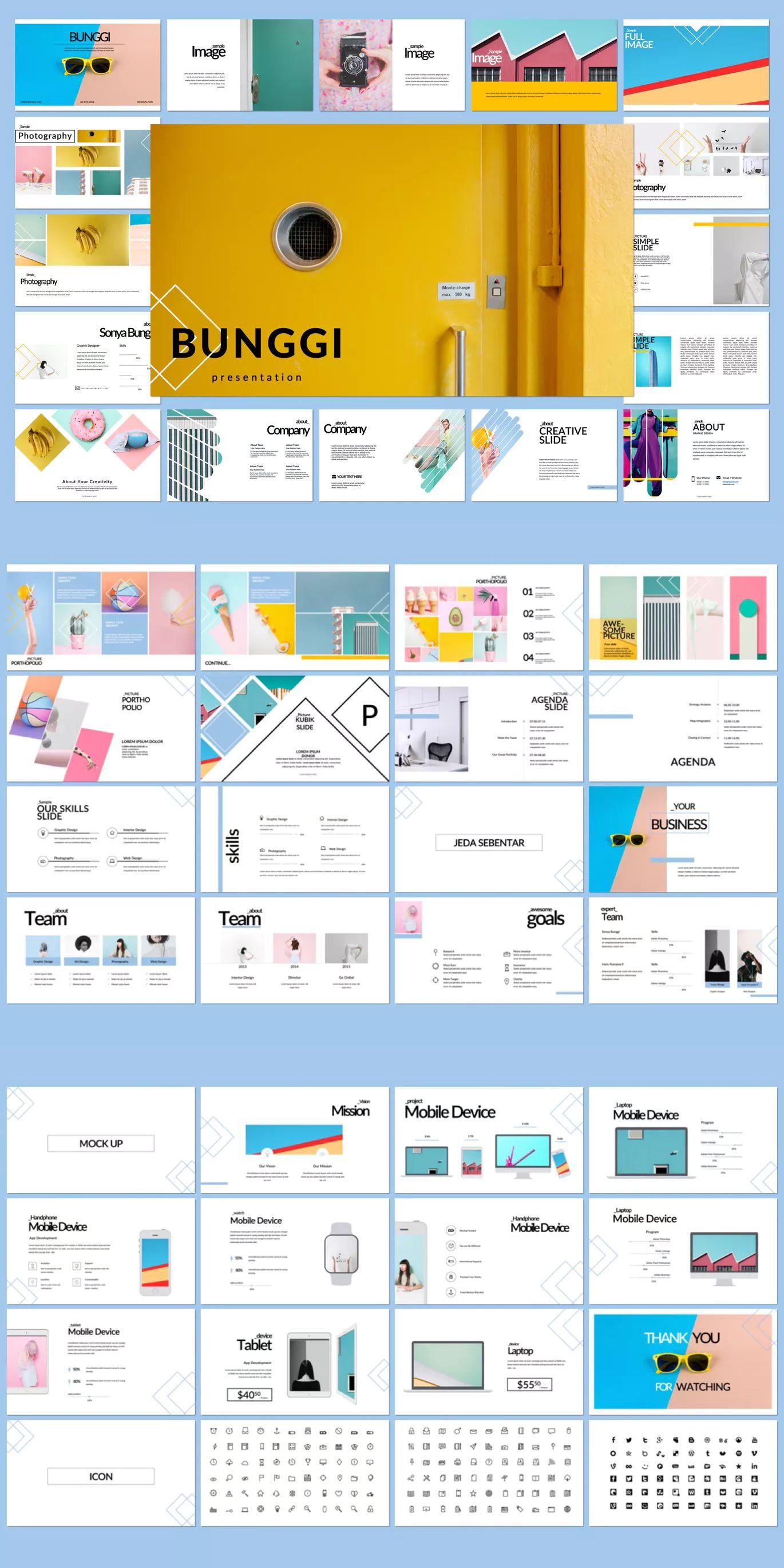bunggi powerpoint presentation template download powerpoint