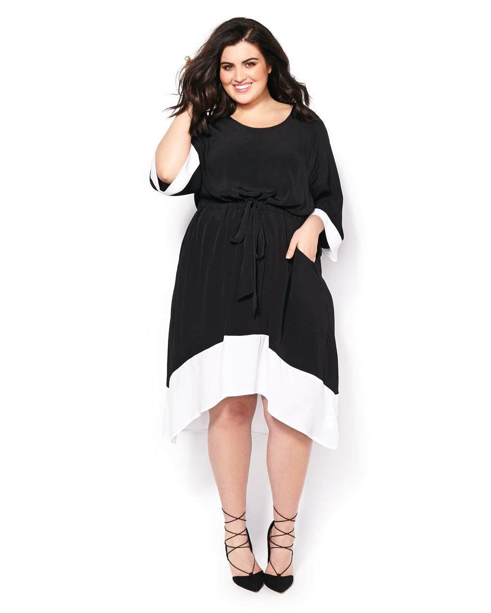 Be Effortlessly Elegant In This Chic Plus Size Dress From Melissa