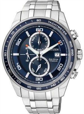Citizen Eco Drive Super Titanium 100M Sapphire Japan Chrono Watch CA0346  59L  412a9c33afc