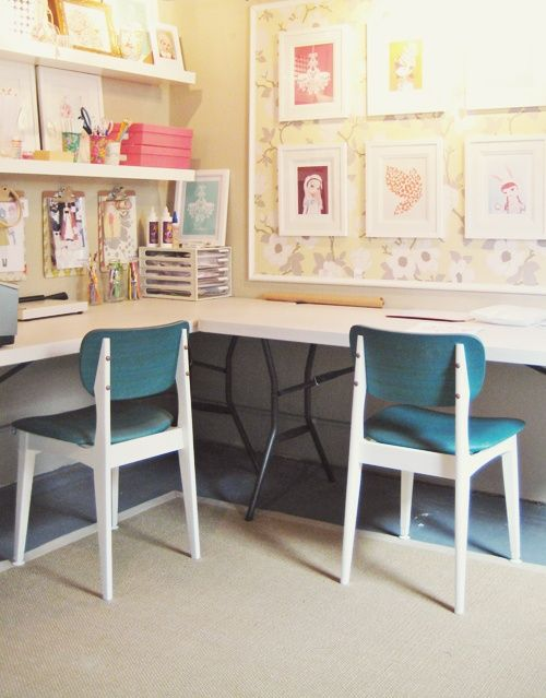 Desks In Kids Bedrooms Kids Workspace Decor Room