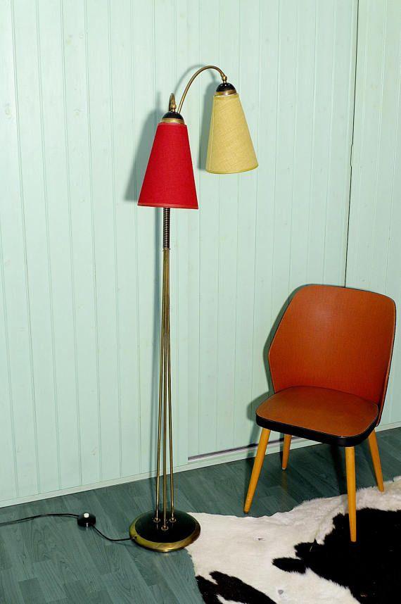 Floor lamp stand light mid century atomic googie mid century glow floor lamp stand light mid century atomic googie aloadofball Choice Image