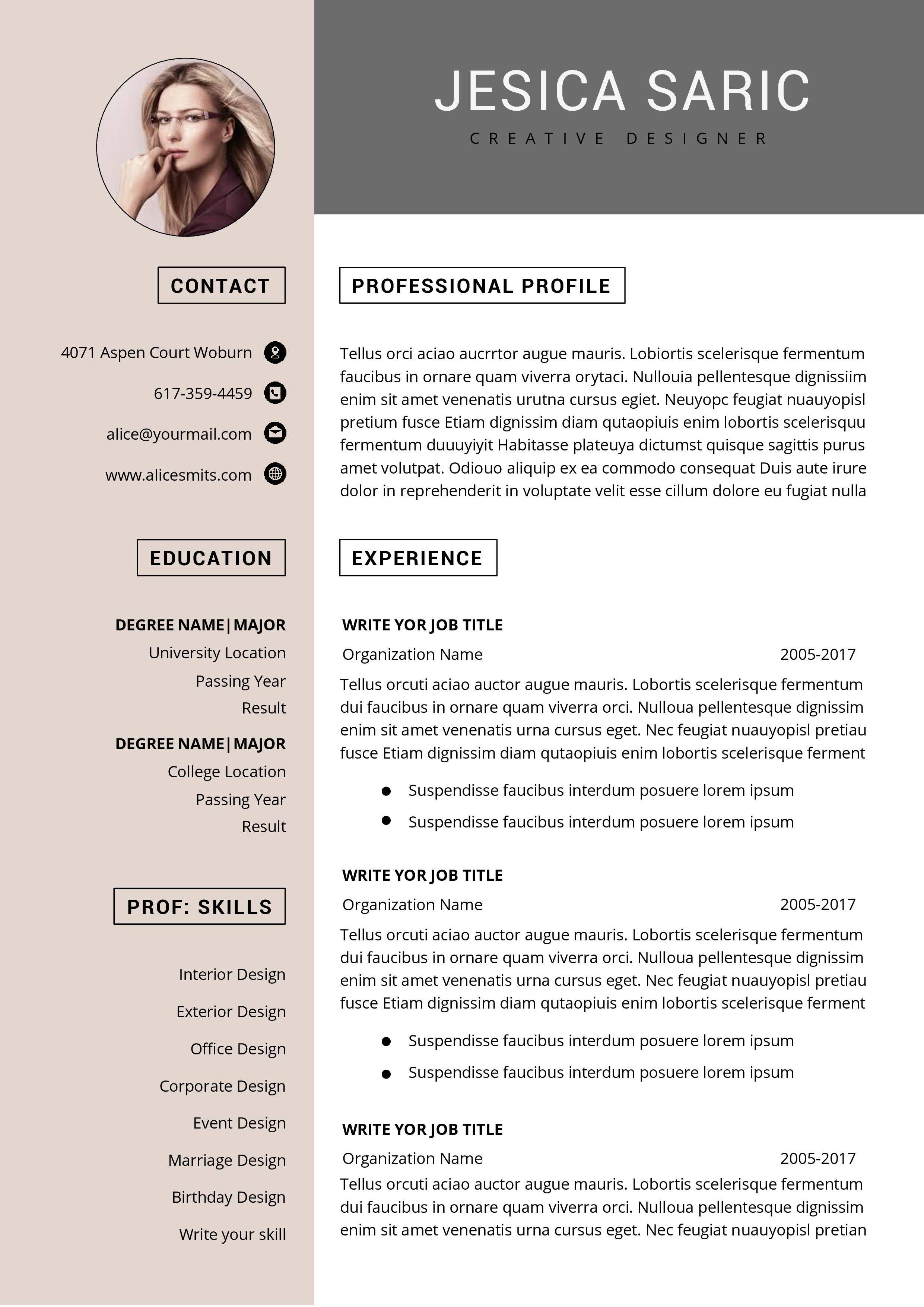 Modern Resume Template Microsoft Word Free Resume Template Etsy In 2021 Functional Resume Template Resume Template Word Resume Template Free