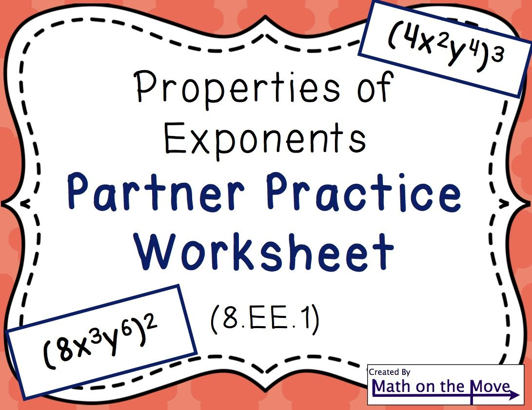 solving math problems with exponents