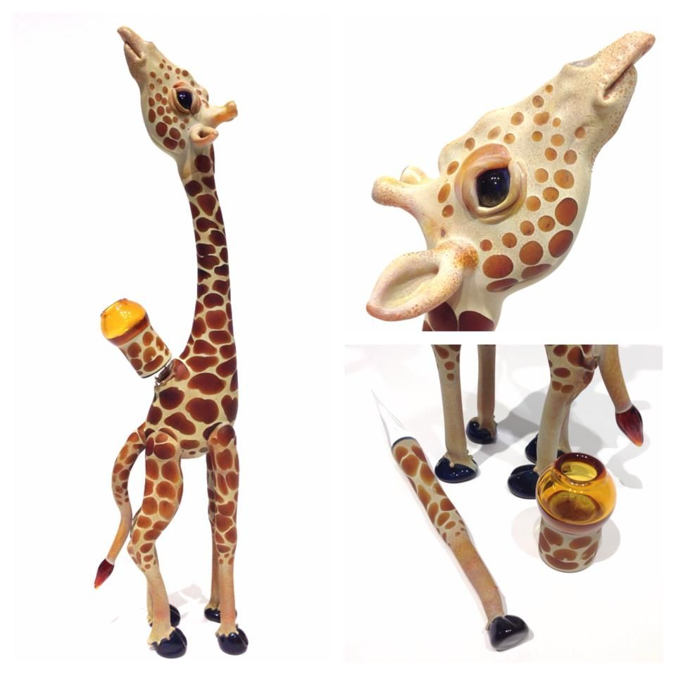 Giraffe rig by ME Glassworks Canada | Glass Pipes | Pinterest | Rigs ...