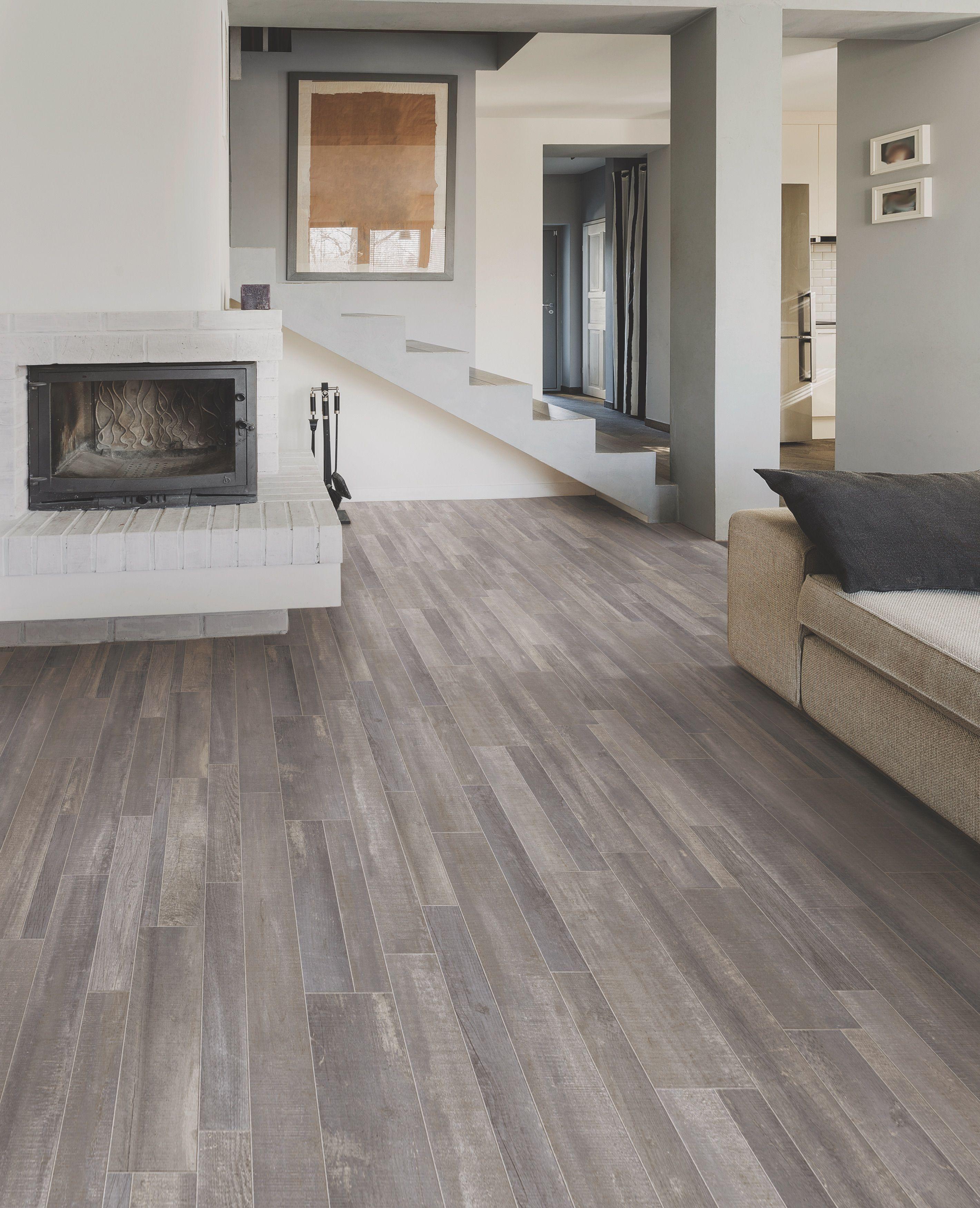 Breathtaking Modern Hardwood Living Room presented by Shaw