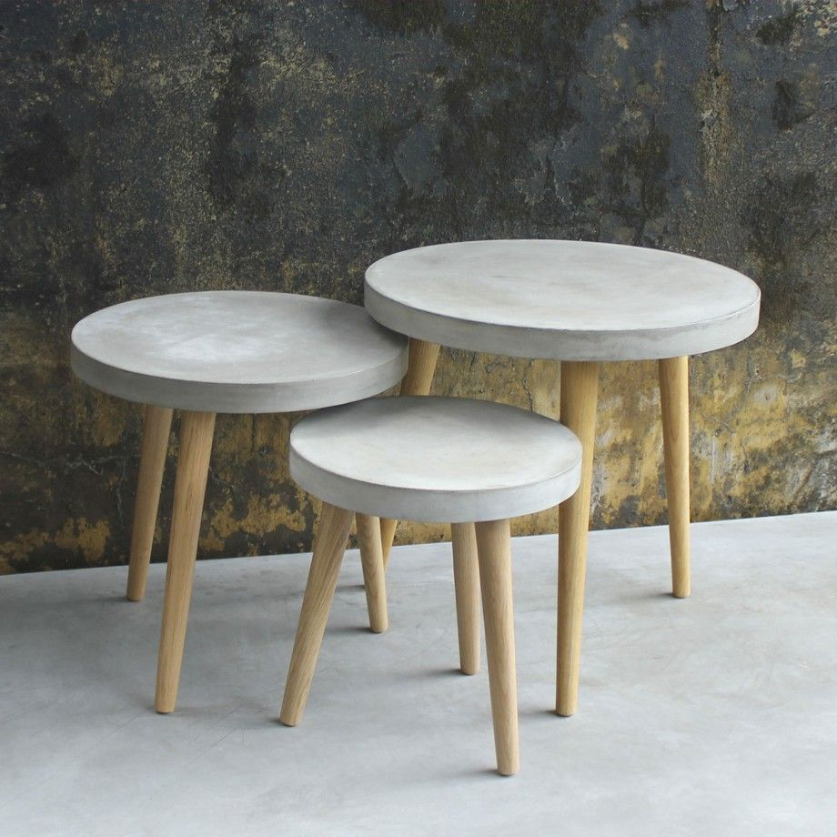 Concrete Furnishings by Sit Möbel Germany #MONOQI | TABLES ...