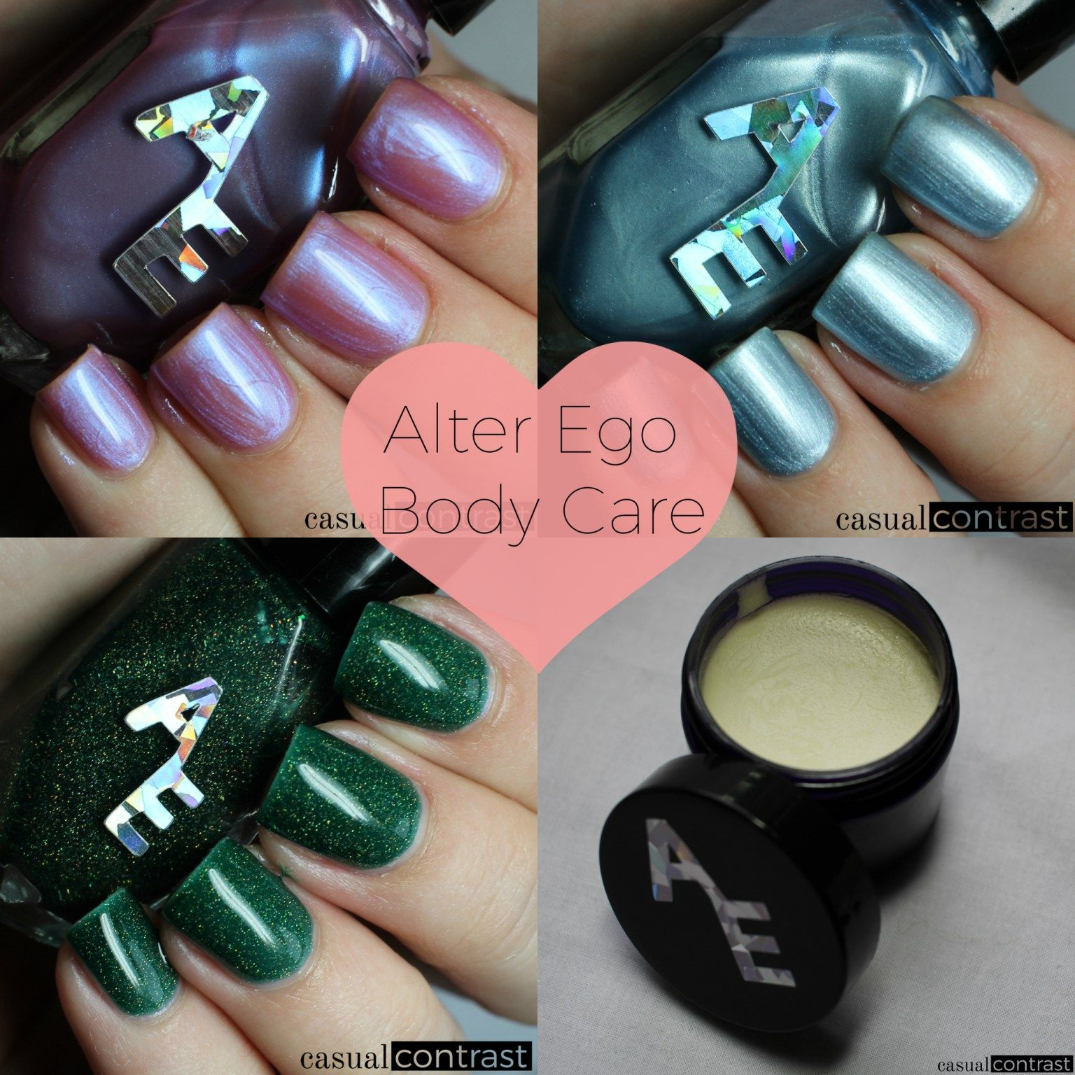 Alter Ego Body Care Products: Swatches & Review • Casual Contrast ...