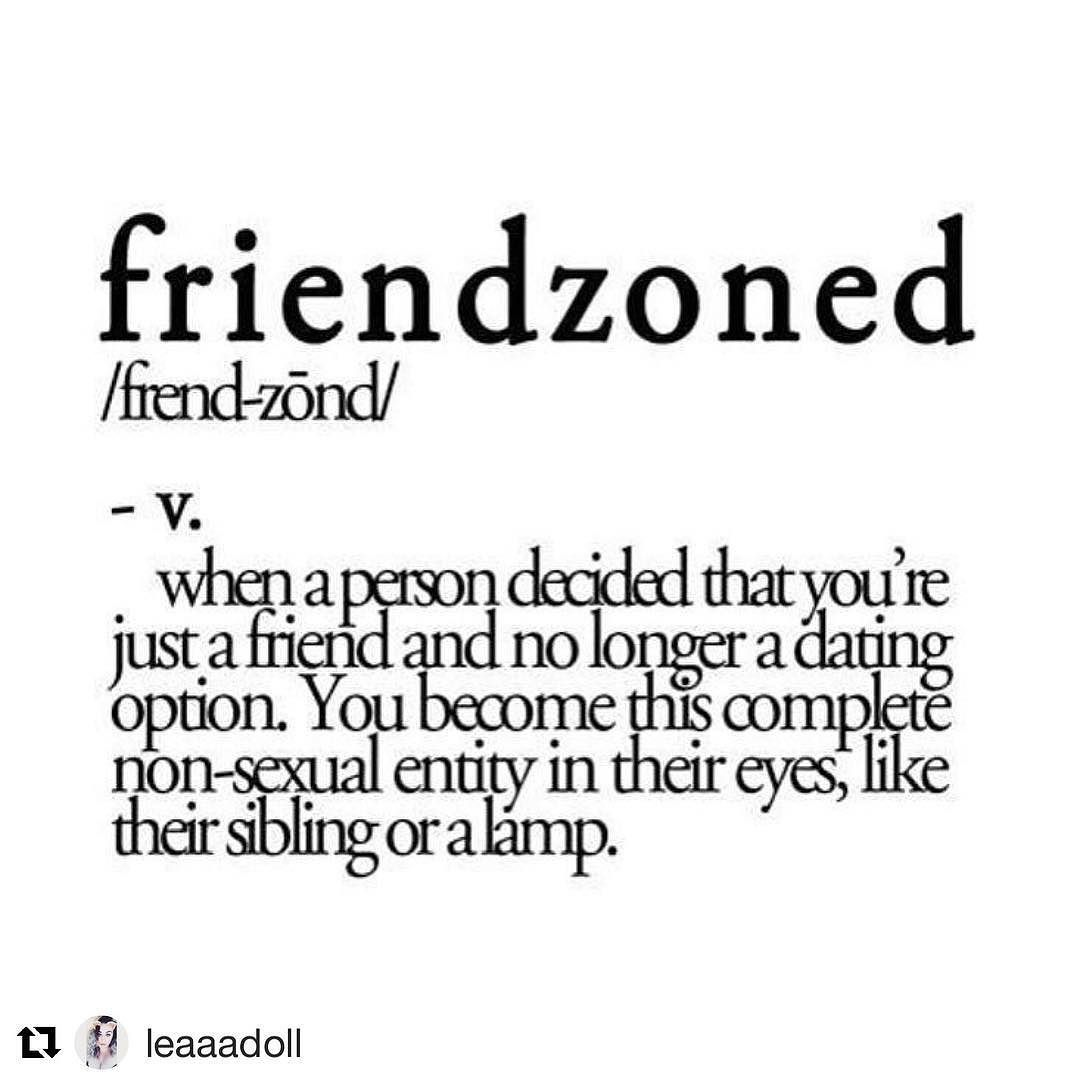 Friendzoned in a relationship