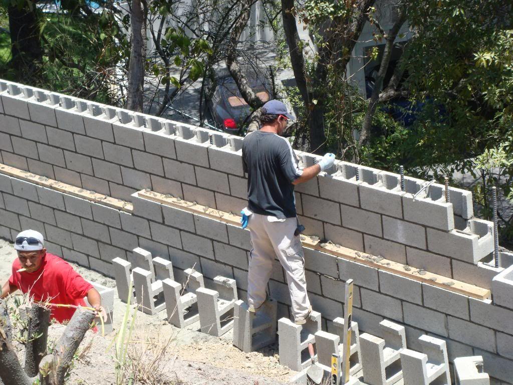 Retaining Wall Installation 6 Concrete Block Walls Retaining Wall Retaining Wall Design