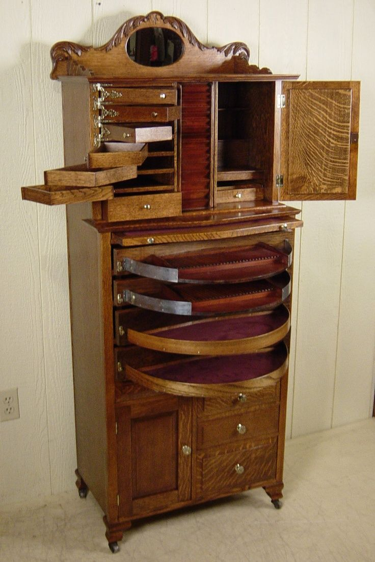 Antique dental cabinet. I just need one of these - Antique Dental Cabinet. I Just Need One Of These Мебельное