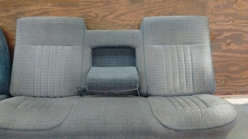 1987 1996 Ford F 150 Truck Bench Seat The Fold Down Armrest Ford Truck Seat Frames Ford Used Truck Seats Ford