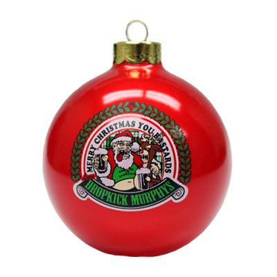 Dropkick Murphys Christmas.Merry Christmas You Bastards Dkm Ornament A Place Called