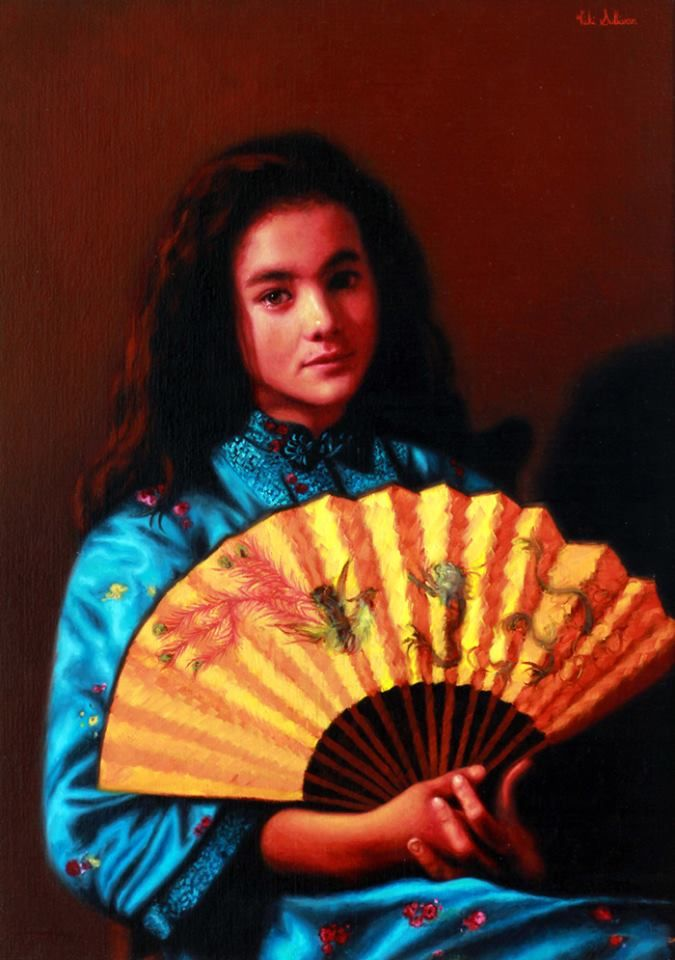 Vicki Sullivan, 1961 | Portrait /Figurative /Realist painter | Tutt'Art@ | Pittura * Scultura * Poesia * Musica |