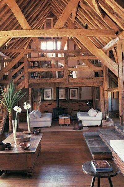 Pin by Rachael Mueller on Dream Home | Barn loft apartment ...