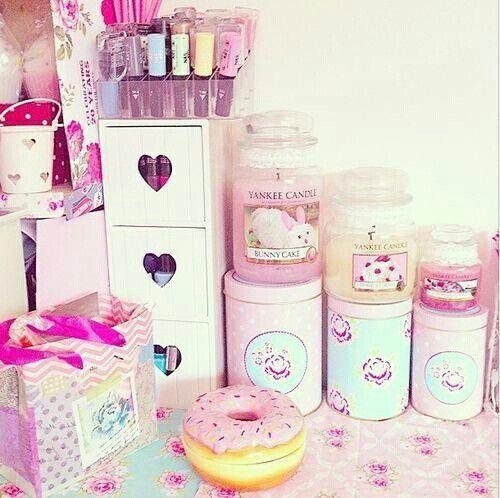 Pink Stuff Girly Cute Room Littlest Girly Room Kawaii Room