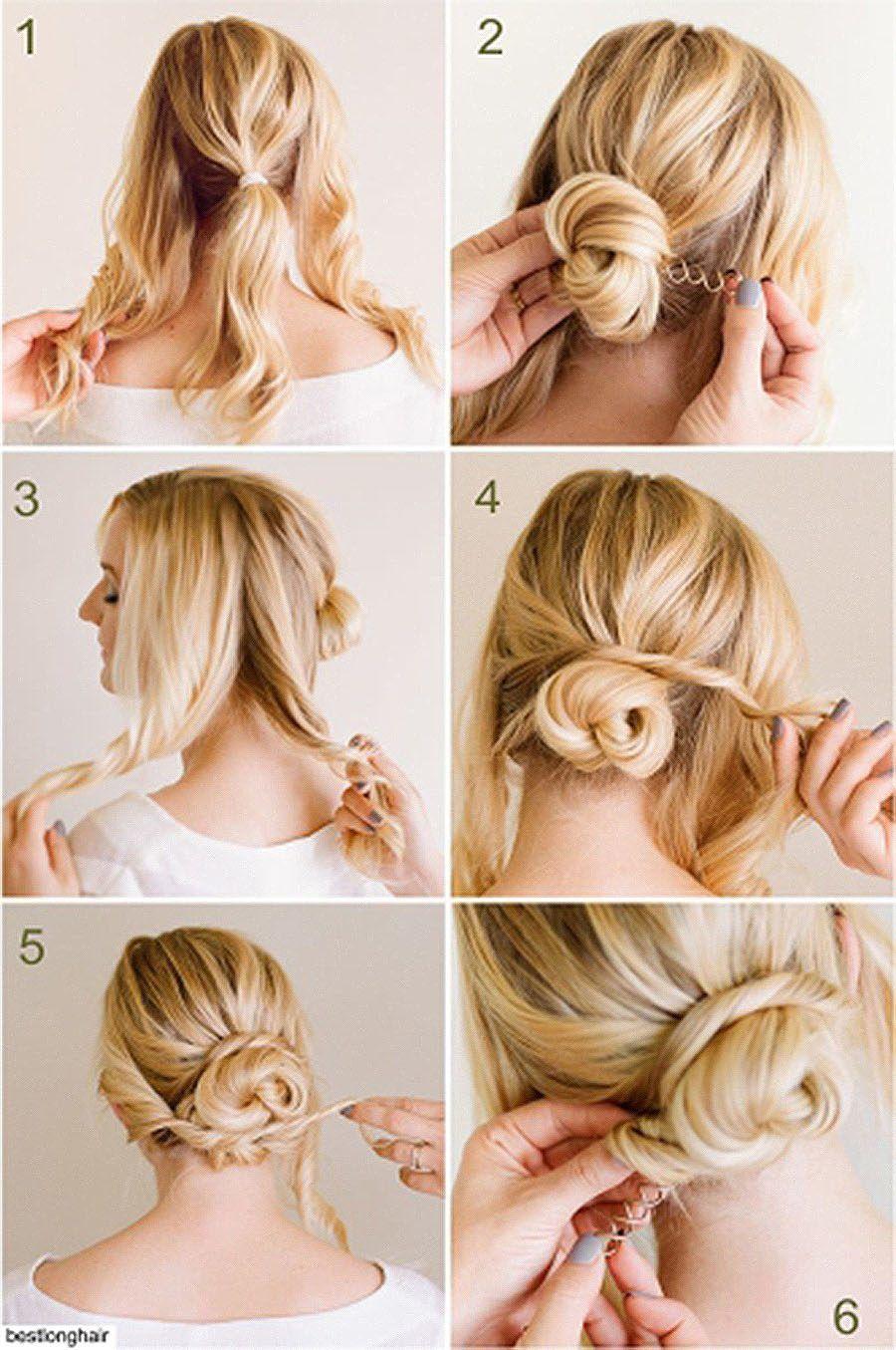 penteados para casamento cabelo curto passo a passo