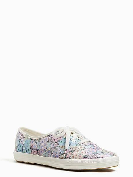 3af4f1b4dc1 Keds X Kate Spade New York Champion Daisy Garden Glitter Sneakers ...