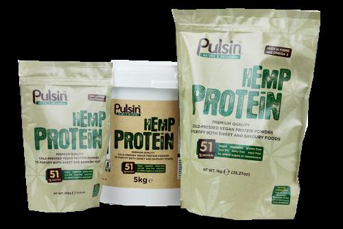 Hemp Protein Naturel - Pulsin