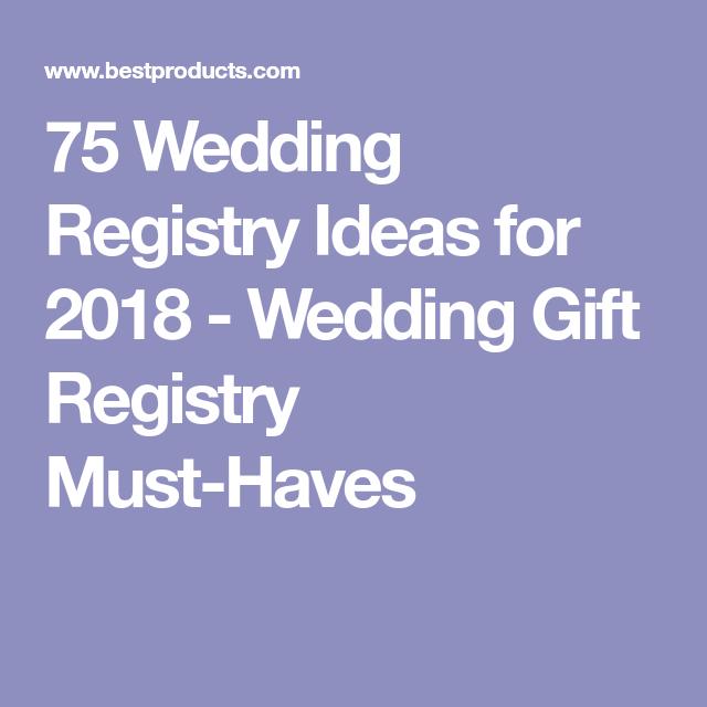75 Essentials That Belong On Your Wedding Registry Pinterest