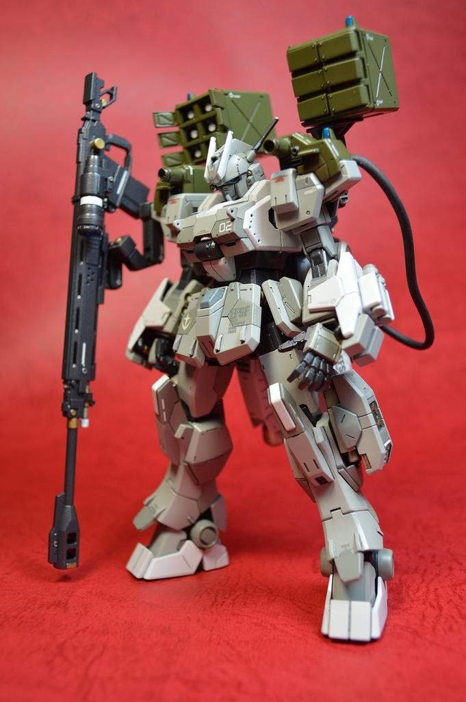 1/144 Gundam Ez-SR Ground Type - Customized Build     Modeled by  amehurikaeru