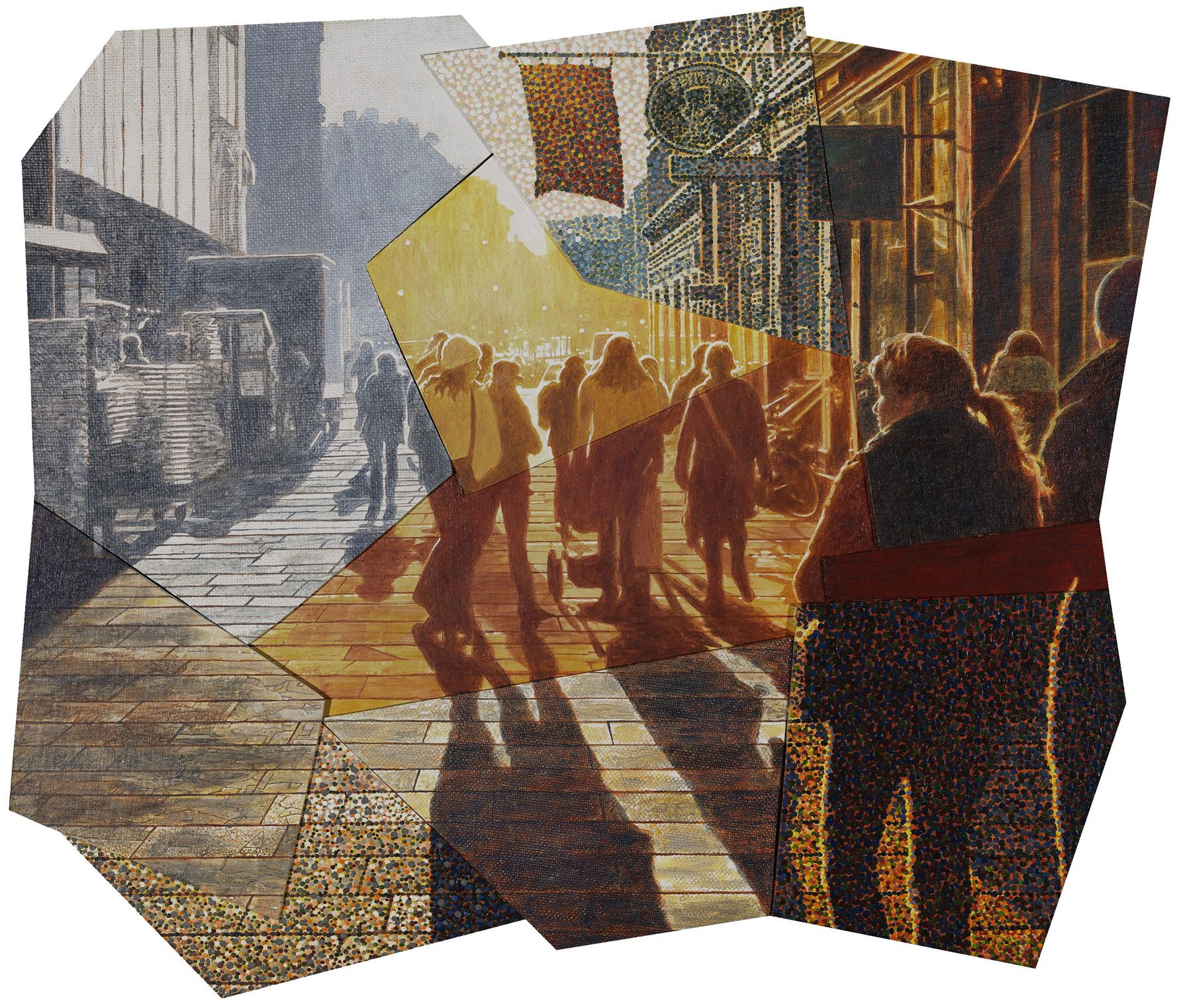 Picture 368 « 2011-2012   Lars Physant. Perceiving the visual sense, 2010 (59x70x0,9 cm)