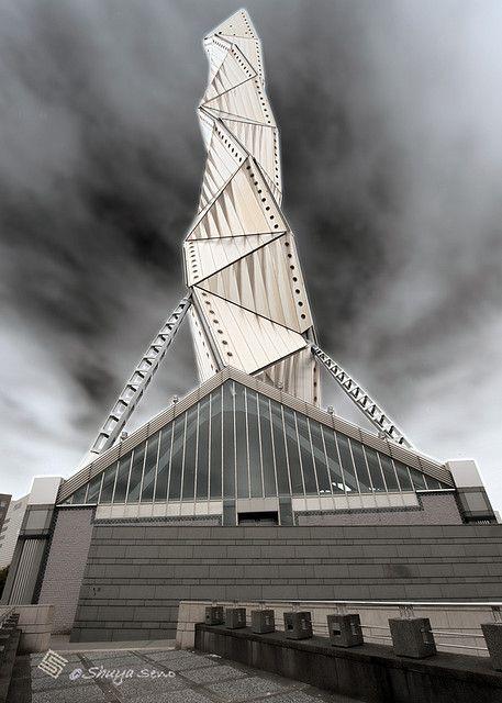 Resultado de imagen de art tower mito arata isozaki