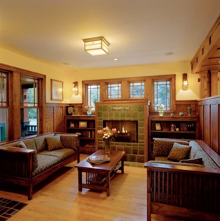 Interiors Of Praire Style Homes