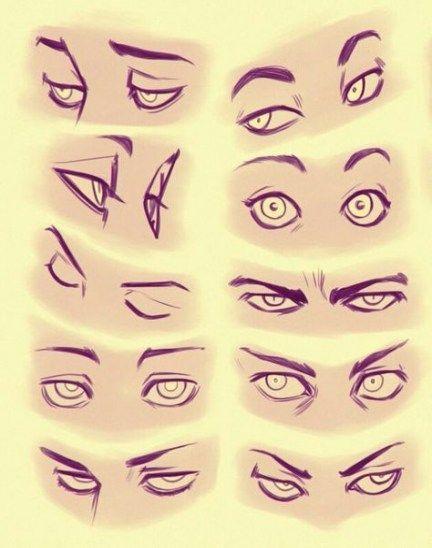 18+ Ideen, wie man realistische Augen von der Seite zeichnet #realisticeye