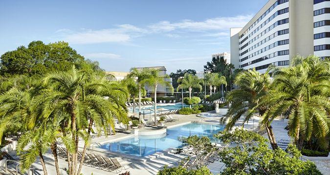 Hilton Orlando Lake Buena Vista Hotel Fl Outdoor Pool Hotels