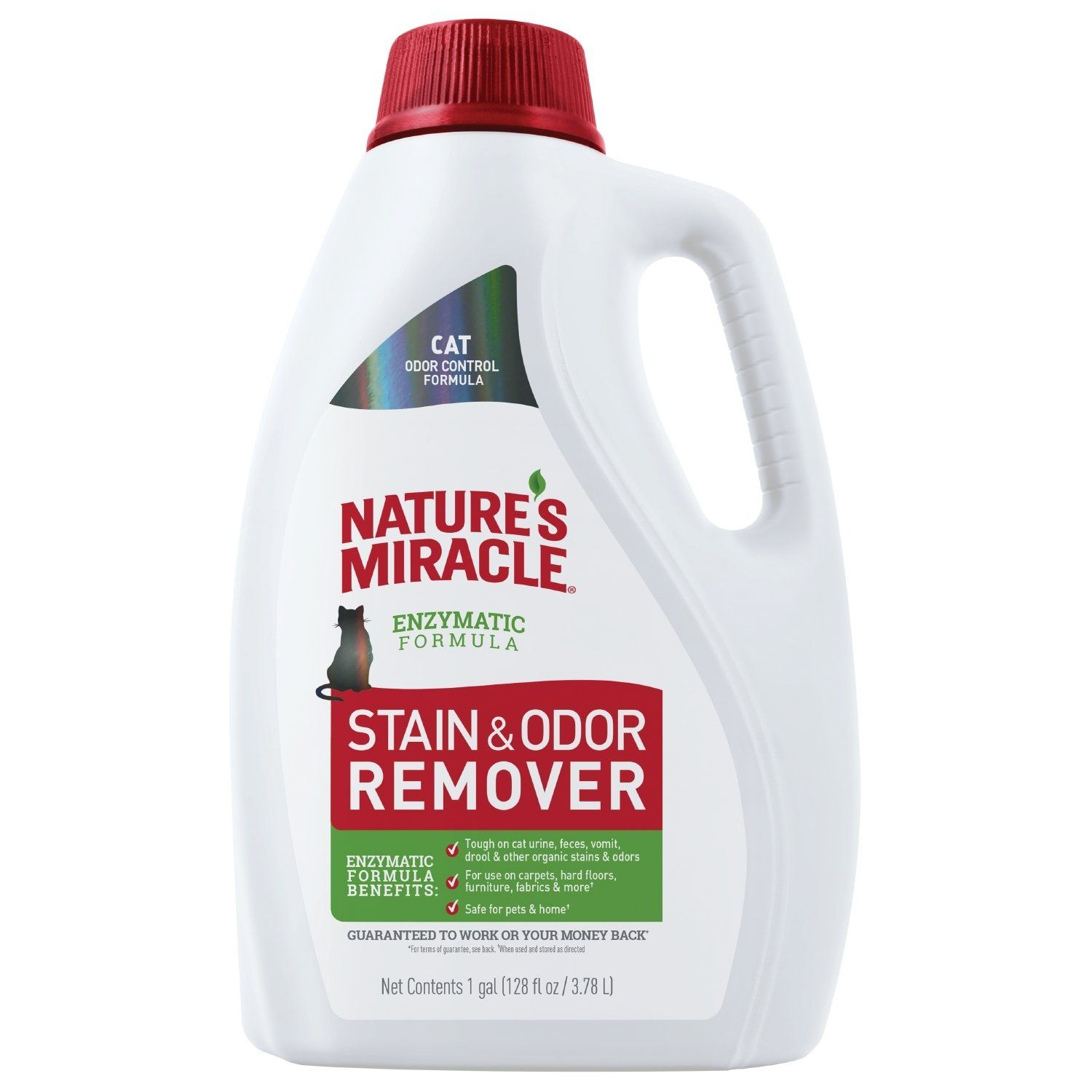 Nature's Miracle Cat Stain and Odor Remover, New Odor
