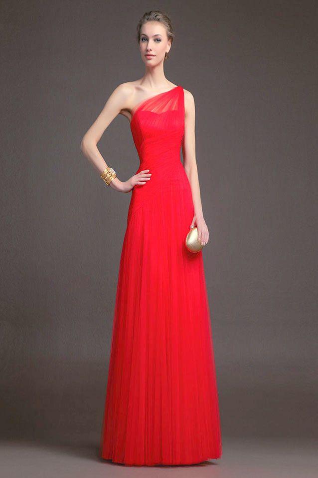 Venta vestidos rojos largos