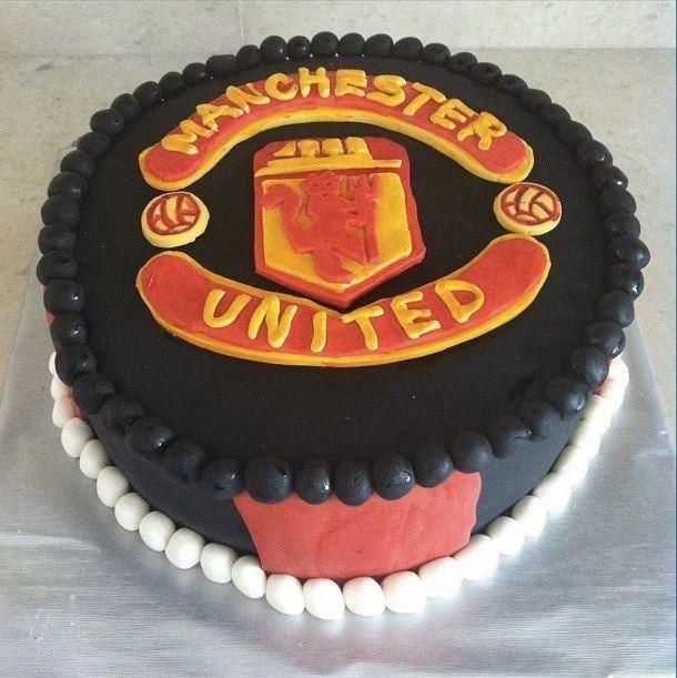 Manchester United Birthday Cake. Someone Someday Should