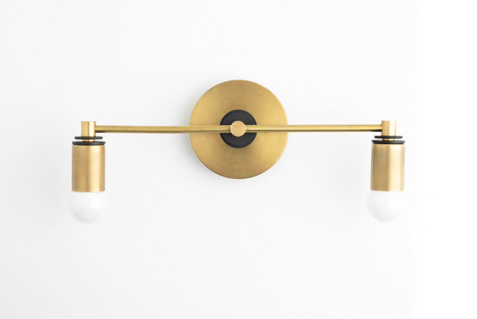 Brass Vanity Light Brass Bathroom Light Modern Vanity Vanity