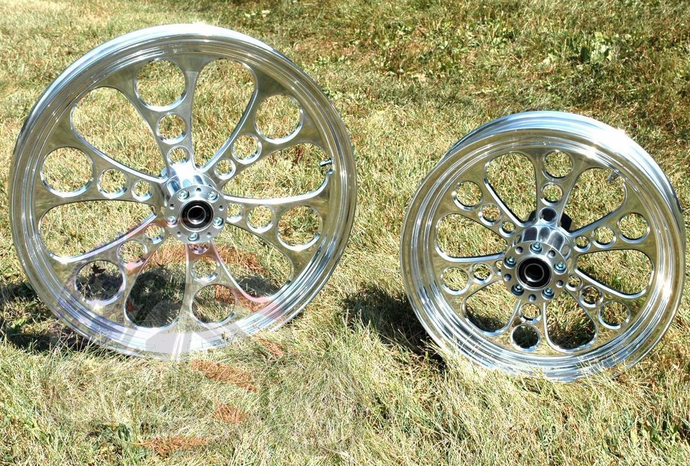 Wheel Rim 2.15 X 18 Custom Style For Harley-Davidson