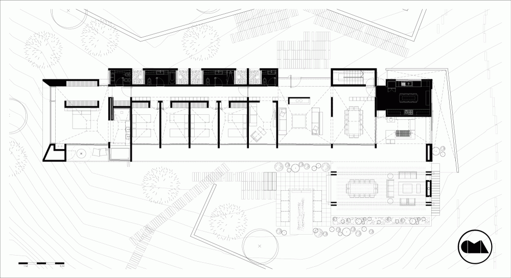Gallery Of Rp House Cma Arquitectos 28 Floor Plans Architecture House Architecture Presentation