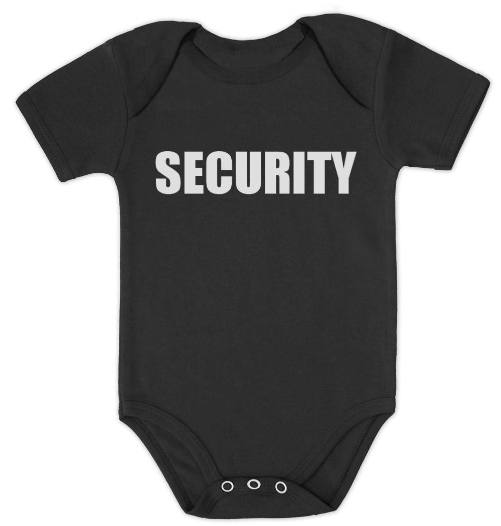 Security Funny Baby Vest Grow Bodysuit Romper Suit