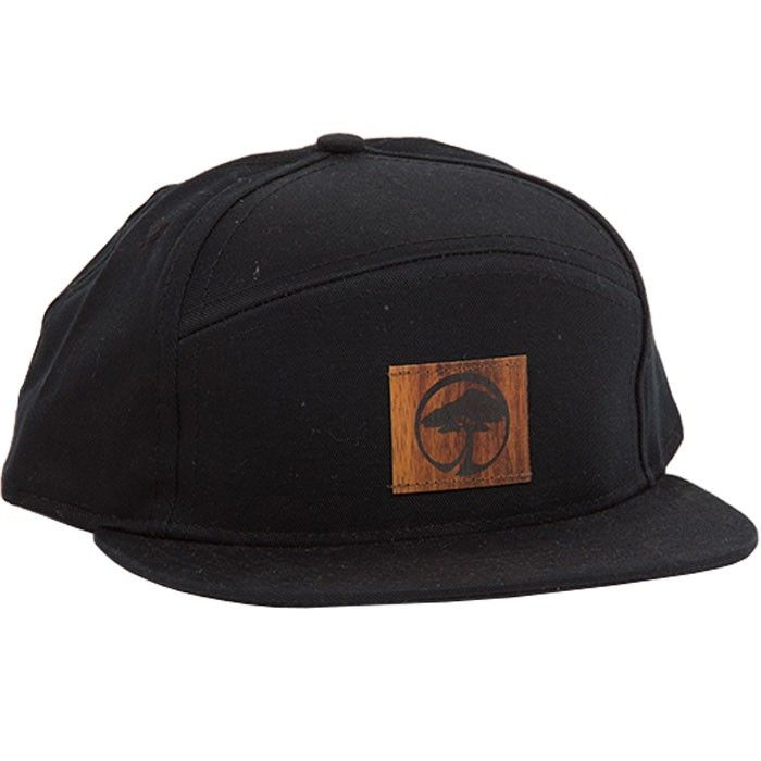 29a77f88711 Arbor Cornerstone Hat The Arbor Collective Cornerstone is a slick 6-panel  snapback with a truly unique design. It includes a reclaimed wood path  front and ...