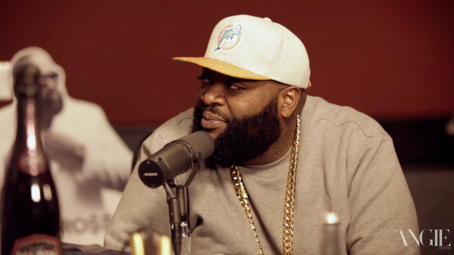 Angie Martinez Nude Pics rick ross reveals a secret about his single 'nobody