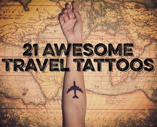 Travel Tattoos For Women
