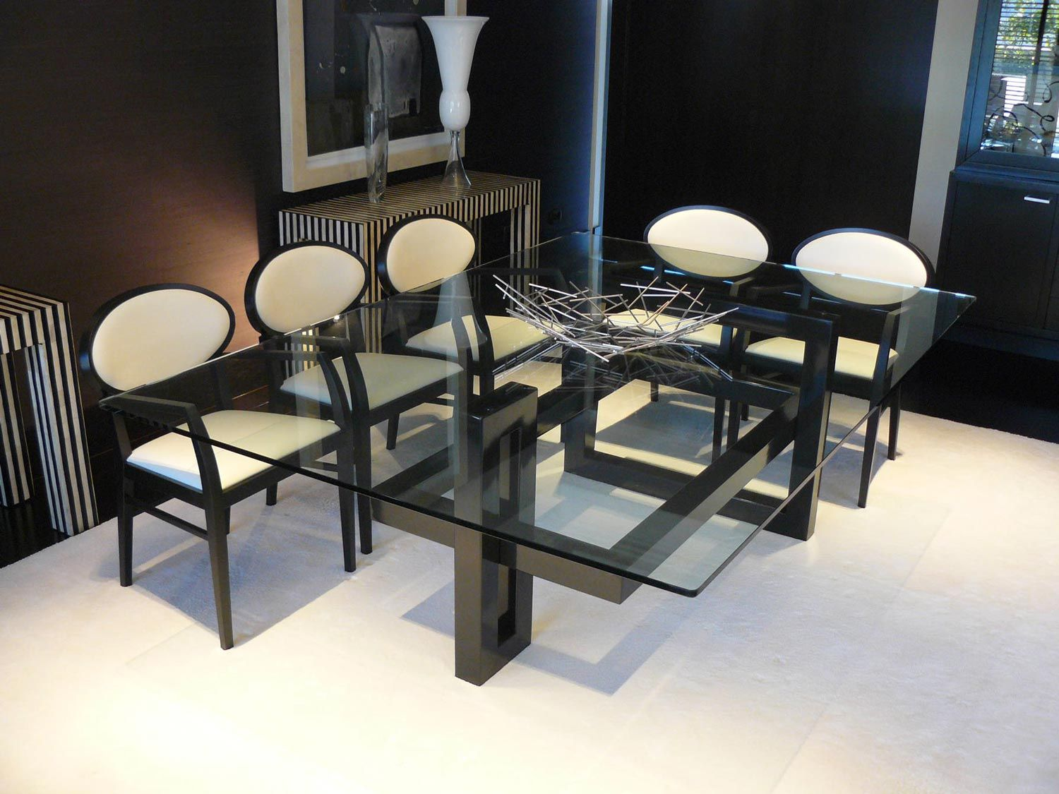 Mesas Rectangulares Para Comedor Ios Mesa By Gonzalo De Salas Chairs And Tables Glass