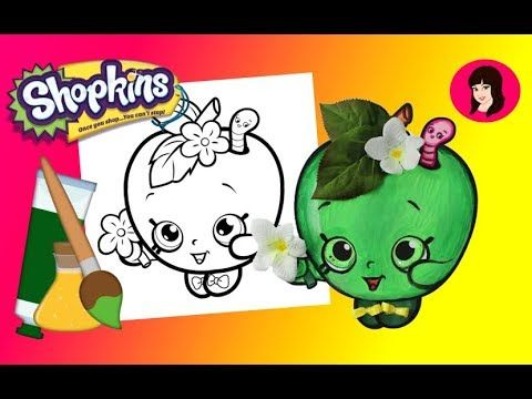 Shopkins Apple Blossom Coloring Page U2013 Shopkins Crafts