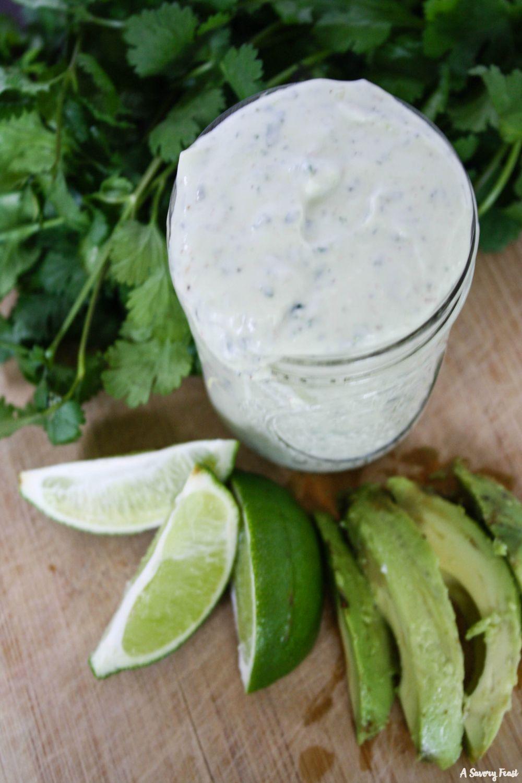 Avocado Ranch Salad Dressing #avocadoranch Avocado Ranch Salad Dressing #avocadoranch